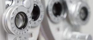 Optometric equipment.